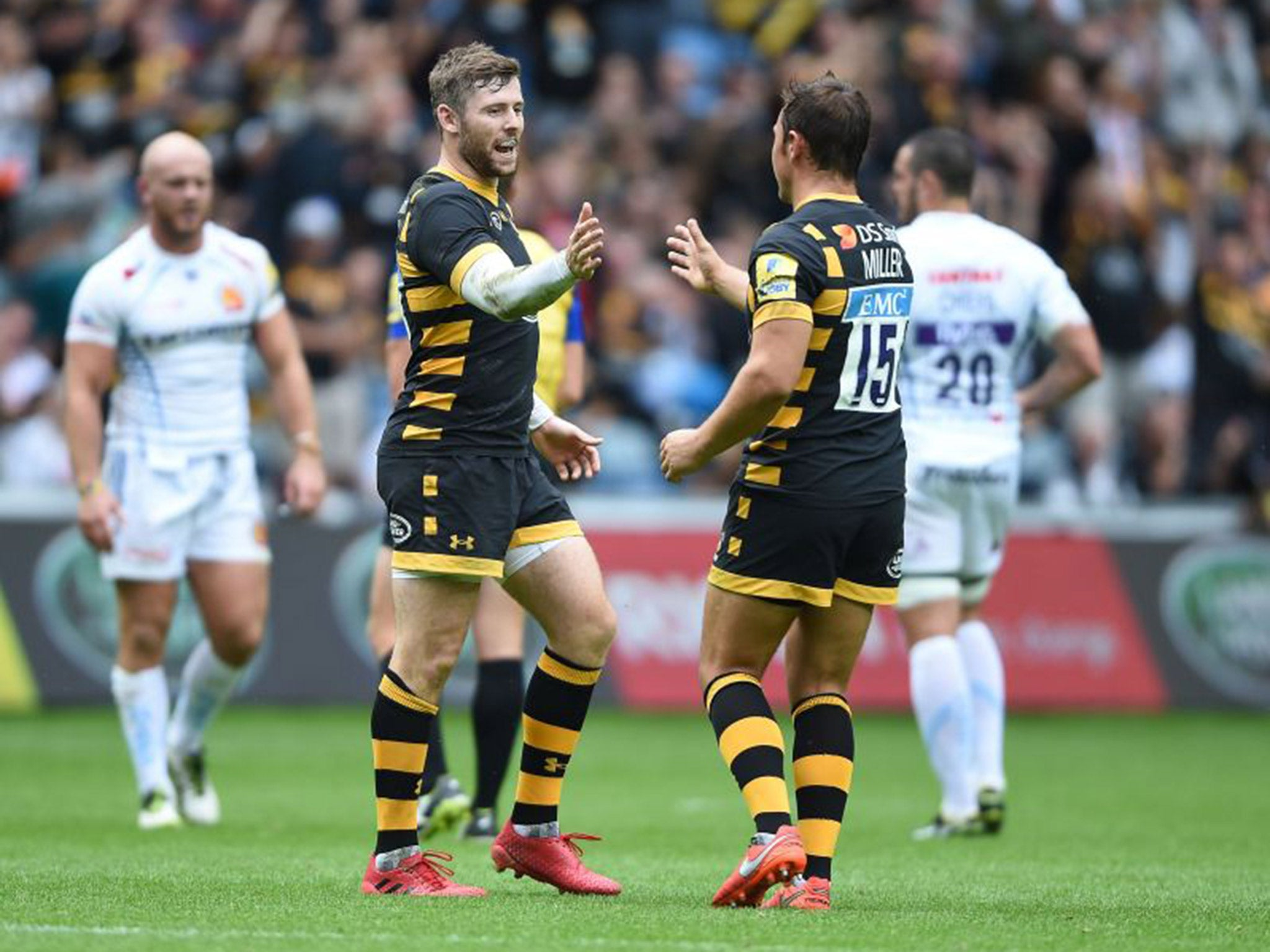 Wasps Vs Exeter Chiefs Match Report Danny Cipriani Returns As Tommy Taylor Try Ensures Triumphant Return The Independent The Independent