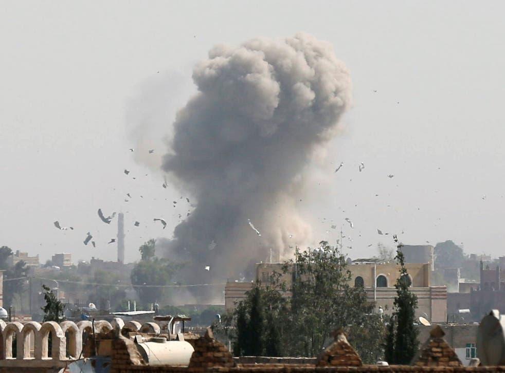 A Saudi-led coalition has been bombing Yemen since March 2015