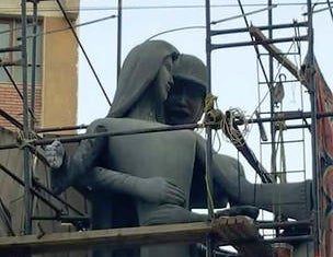 Egyptian artist forced to change sculpture showing 'sexual assault' by soldier