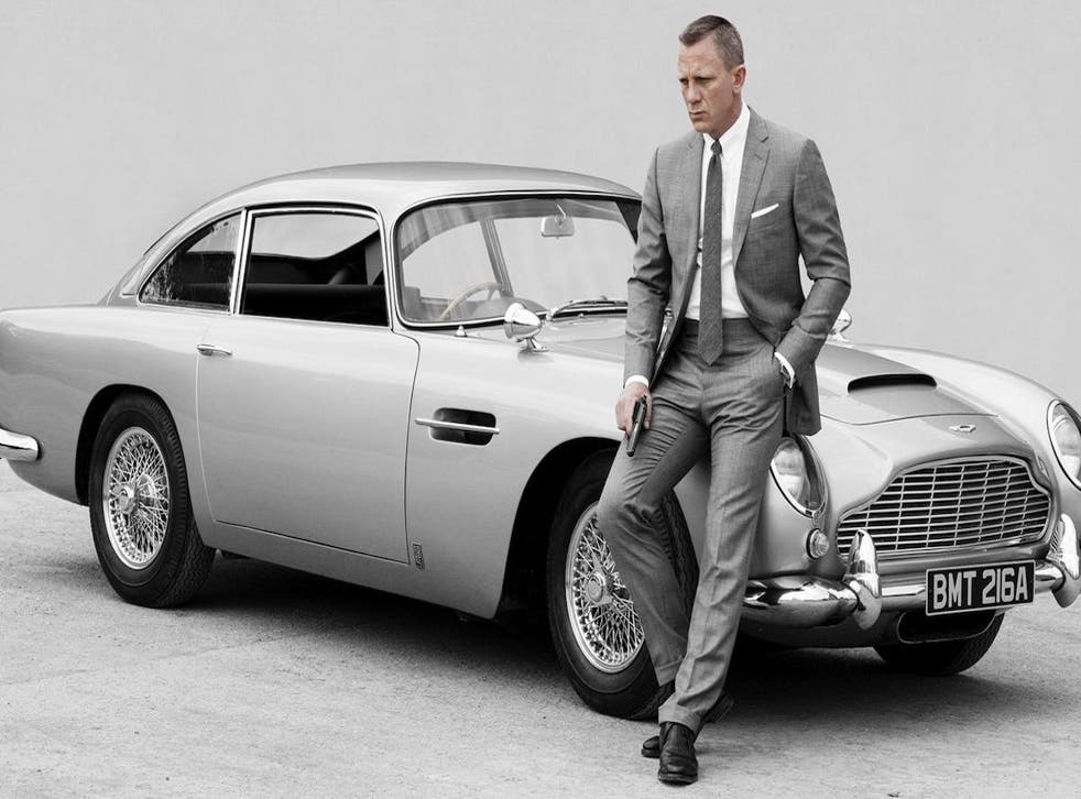 Bond 25 Daniel Craig To Drive Electric Aston Martin In Latest Film The Independent The Independent