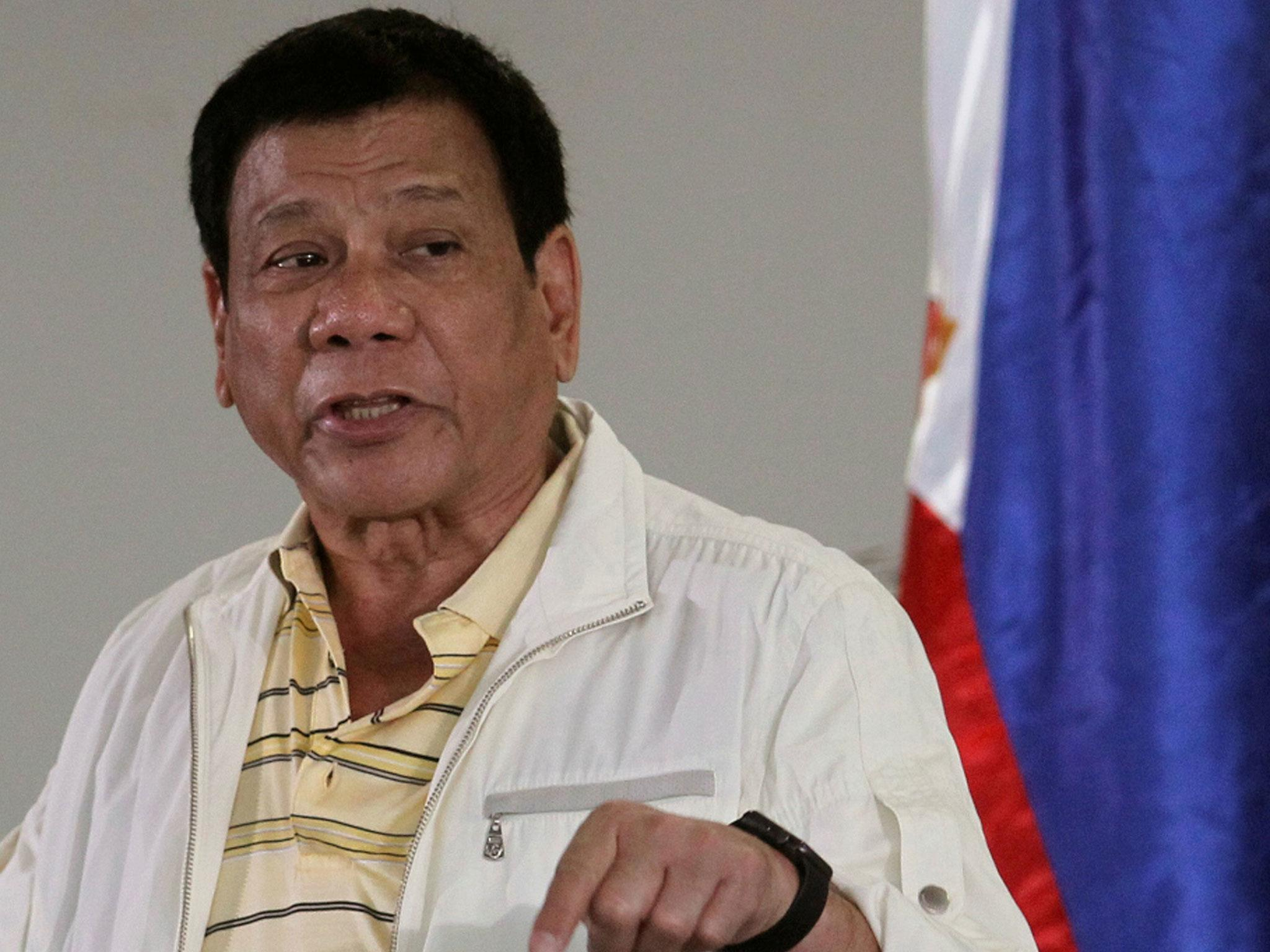 Rodrigo Duterte: Philippines president calls Barack Obama a 'son of a  bitch' | The Independent