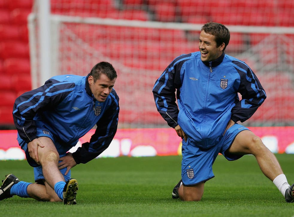 Michael Owen pleaded with Jamie Carragher to help with a Liverpool return