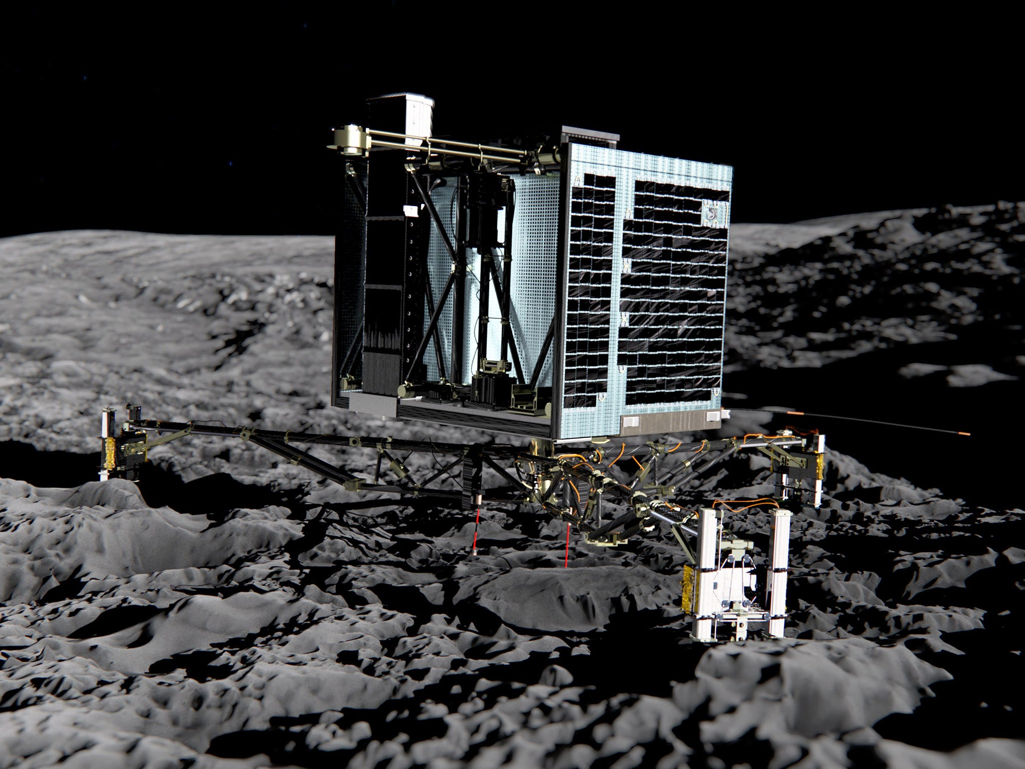Philae lander found on comet almost two years after going missing