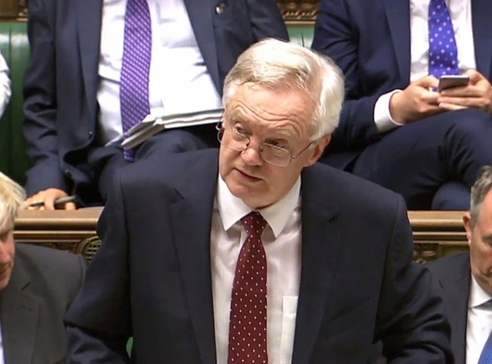 David Davis's speech to Parliament yesterday was notable for being rather short on detail