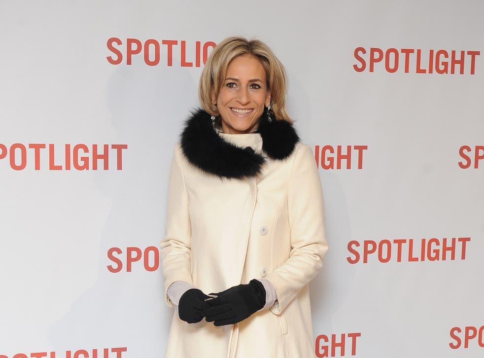 Emily Maitlis arrives for the UK Premiere of Spotlight