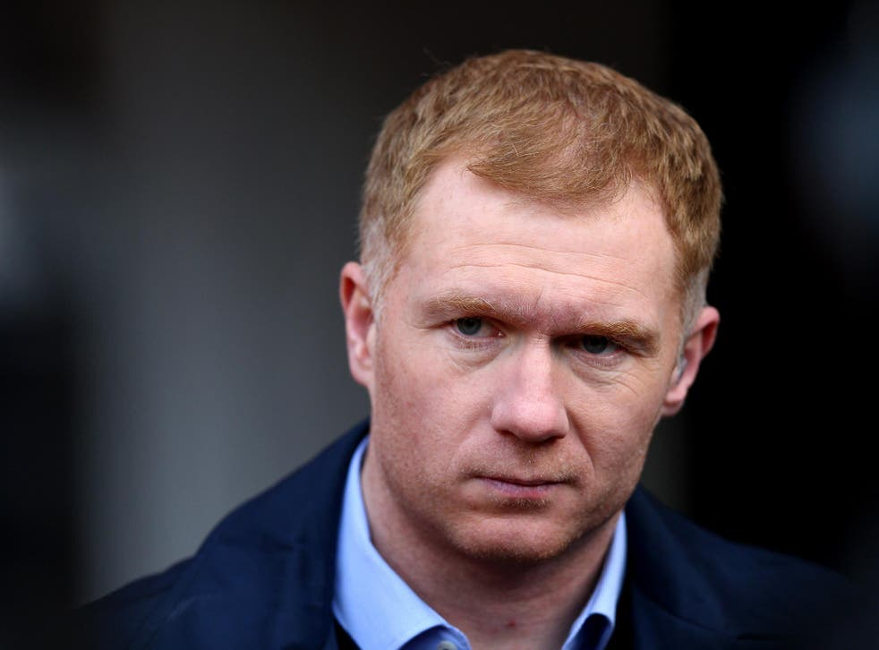 Paul Scholes has regularly criticised United since leaving the club in 2014