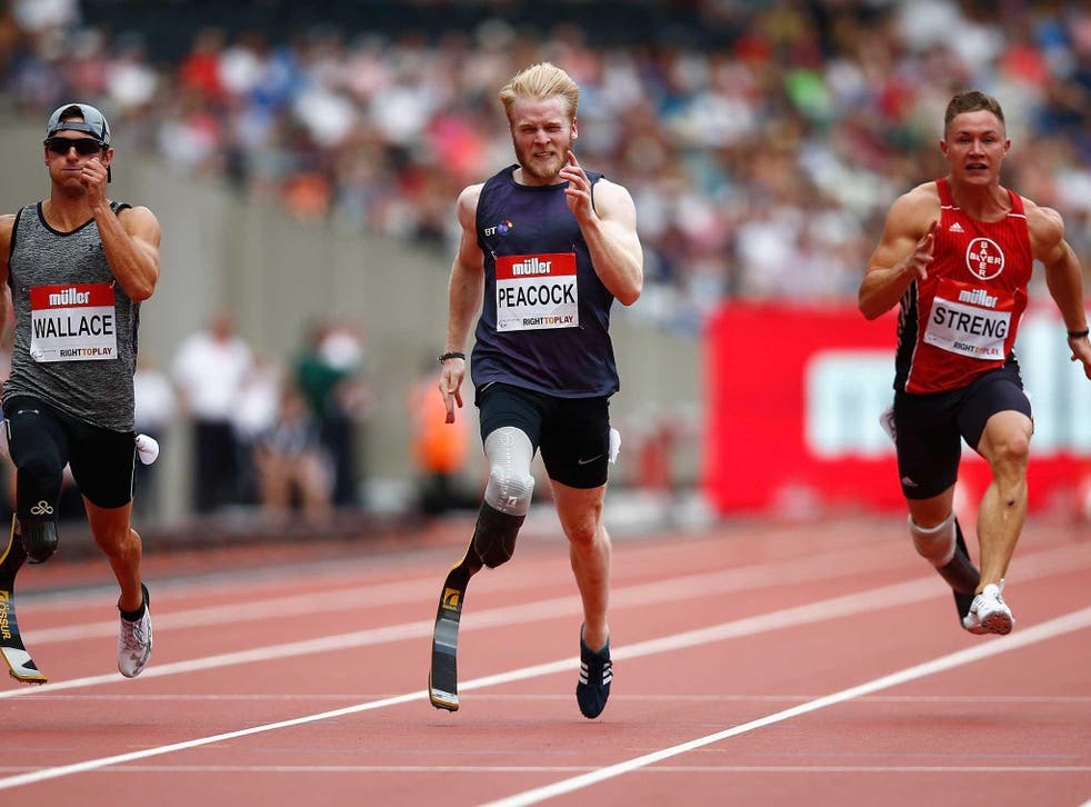 Jonnie Peacock goes for gold in 11 days of Paralympics competition for Team GB