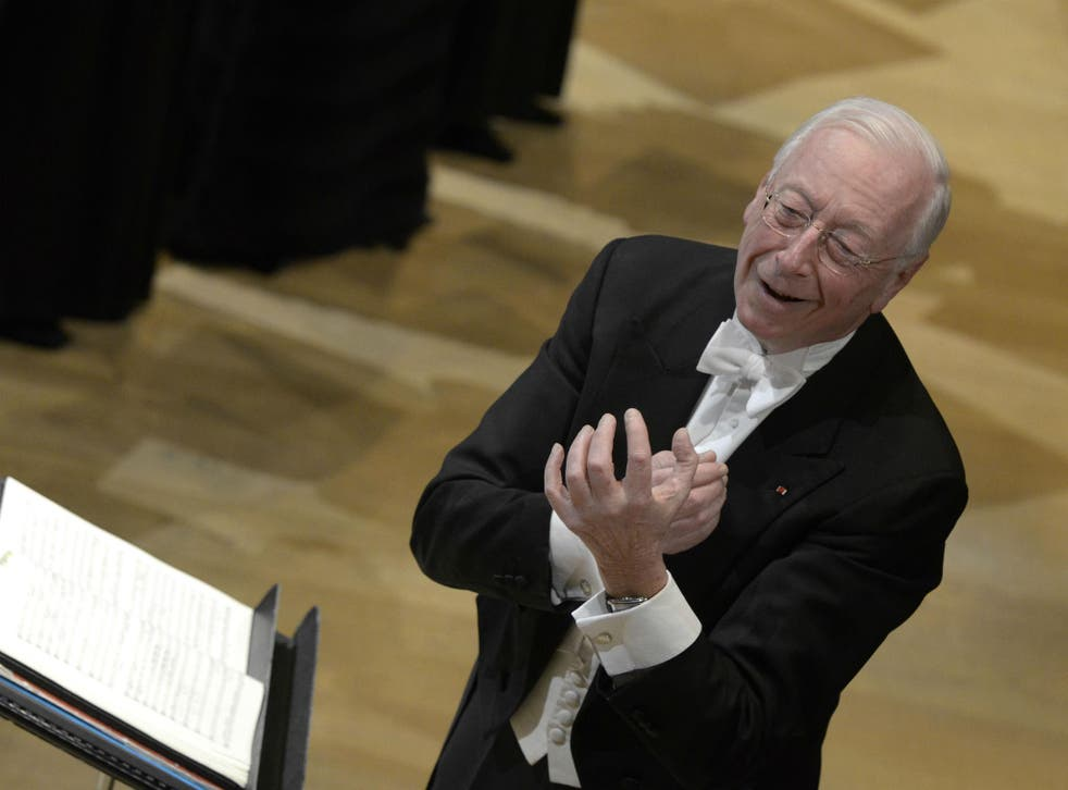 Conductor and founder of Les Arts Florissants, William Christie