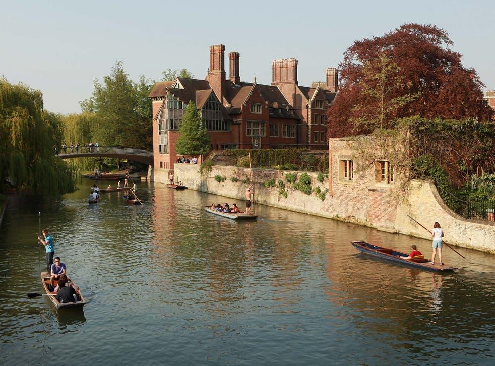 University of Cambridge, pictured