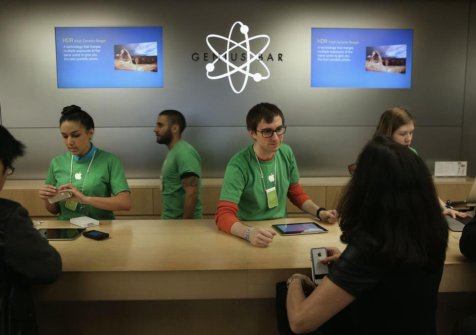 how do you make an appt at the genius bar