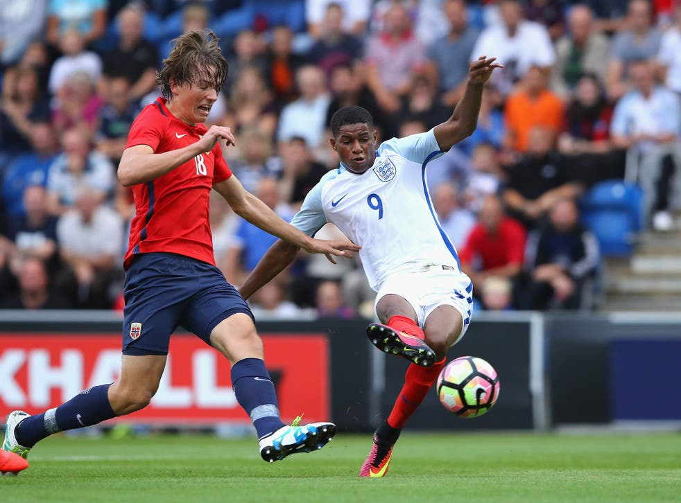Rashford put this season's lack of football aside to shine for the England Under-21s