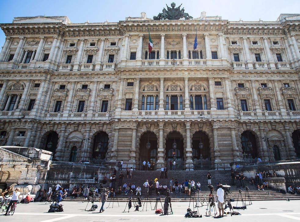 File image: Italy's 'Corte di Cassazione' or Supreme Court in Rome