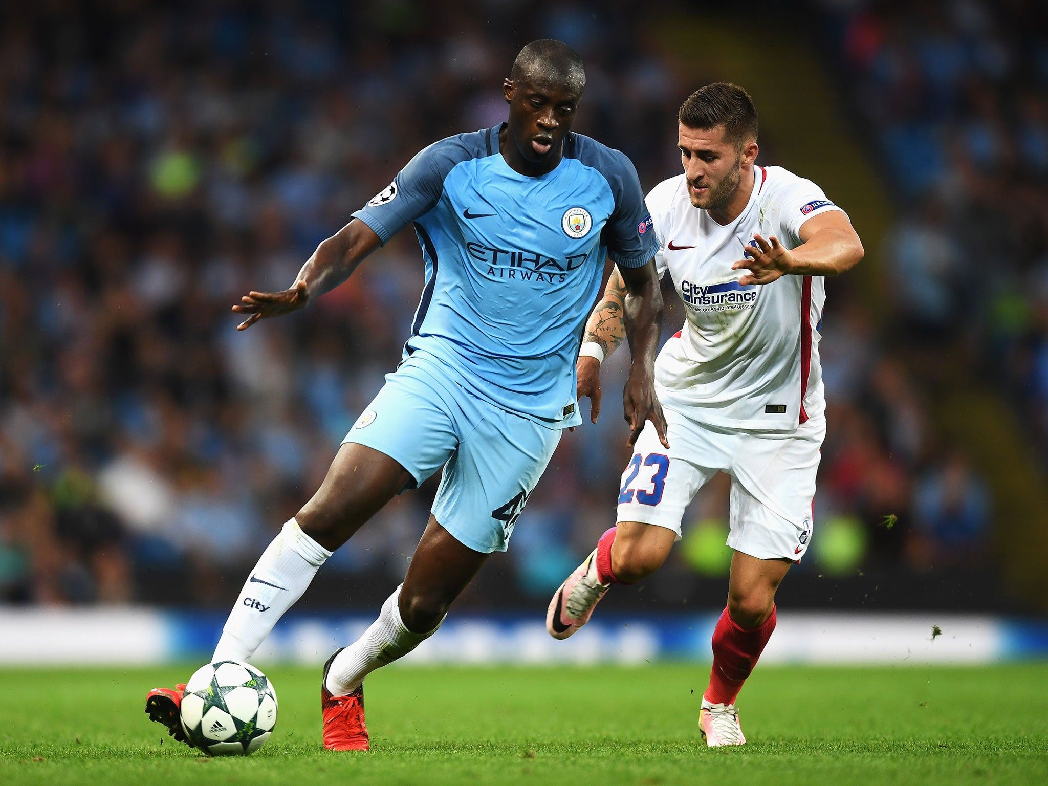 Pep Guardiola told Yaya Toure Manchester City was a s team