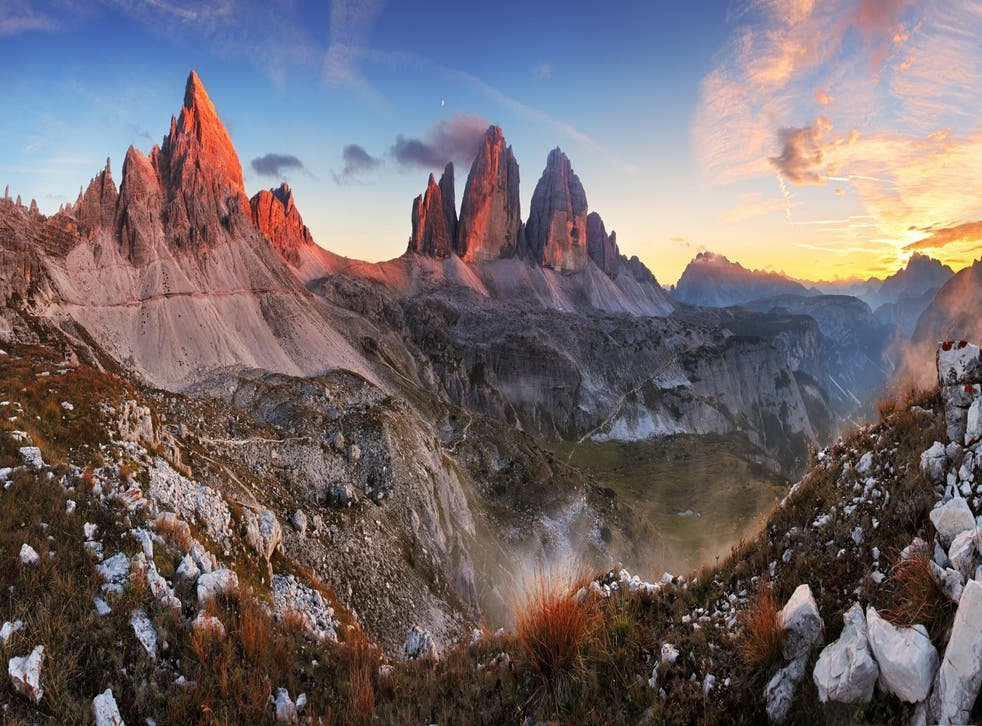 The Three Peaks, or Tres Cime