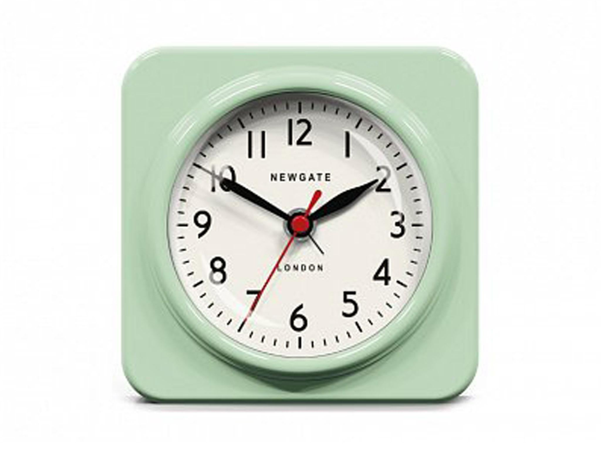 This Alarm Is As Loud As Some Of Its Colour Options (red, Blue And Green)  And Will Inject Your Room With Some Timeless British ...