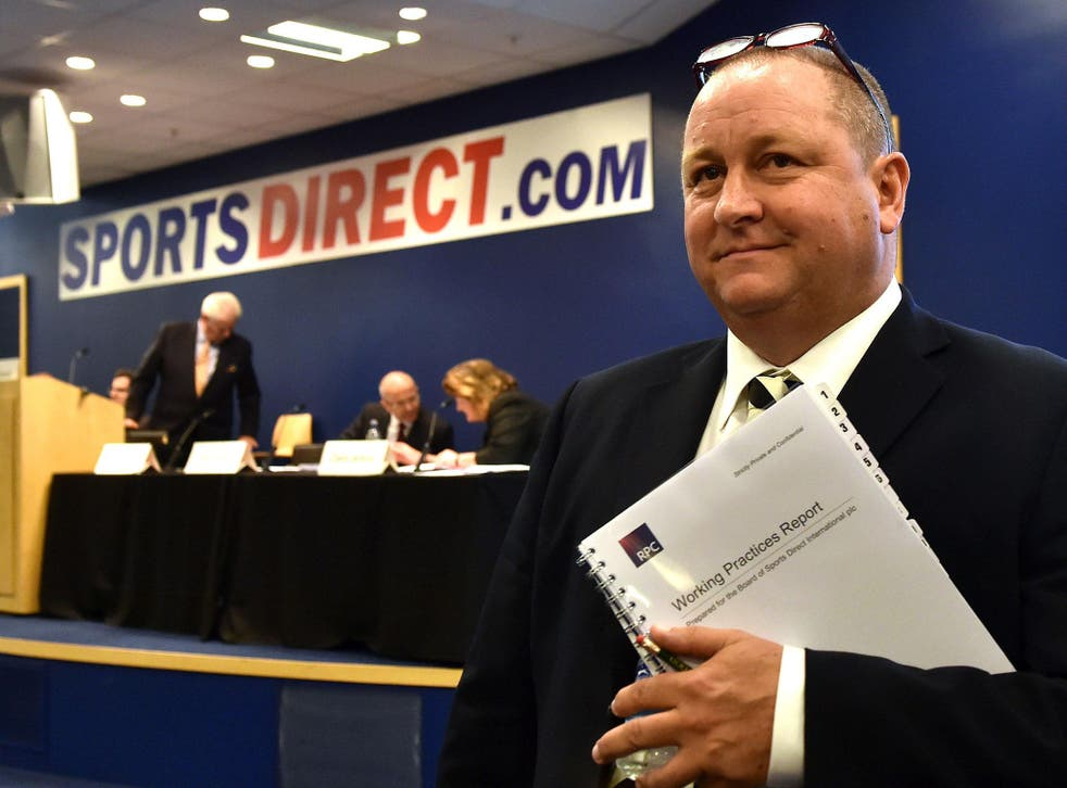 Mike Ashley has brazenly ignored the wishes of a majority of independent shareholders