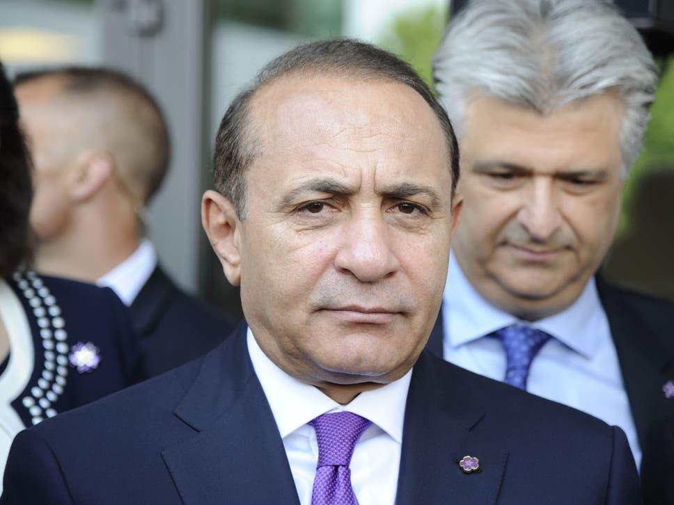 Hovik Abrahamyan the Prime Minister of Armenia