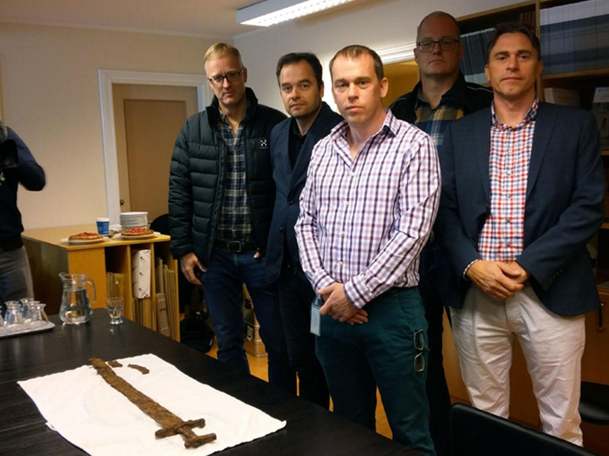 1,000-year-old Viking sword unearthed by Icelandic goose hunters