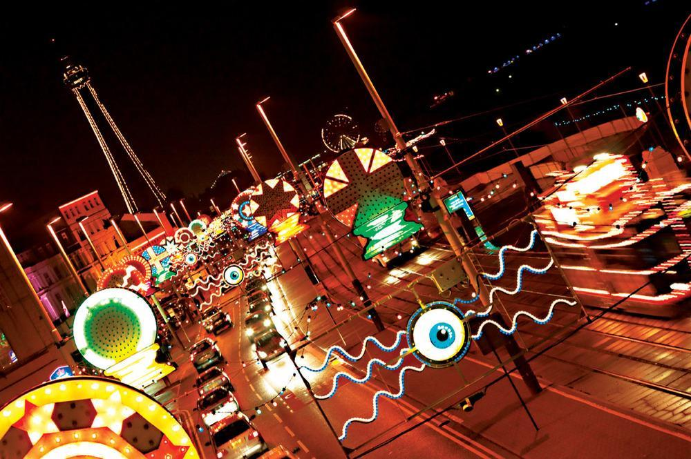 Cool Place Of The Day: Blackpool Illuminations, Lancashire