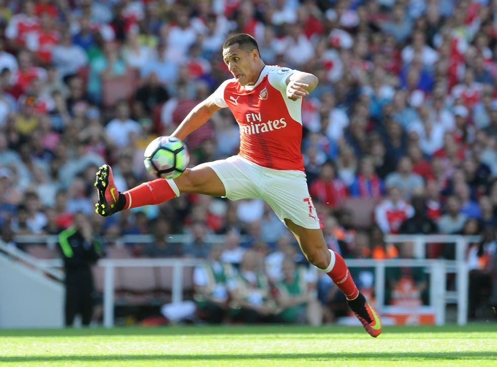 Alexis Sanchez is a doubt for Arsenal's Premier League clash with Southampton this weekend