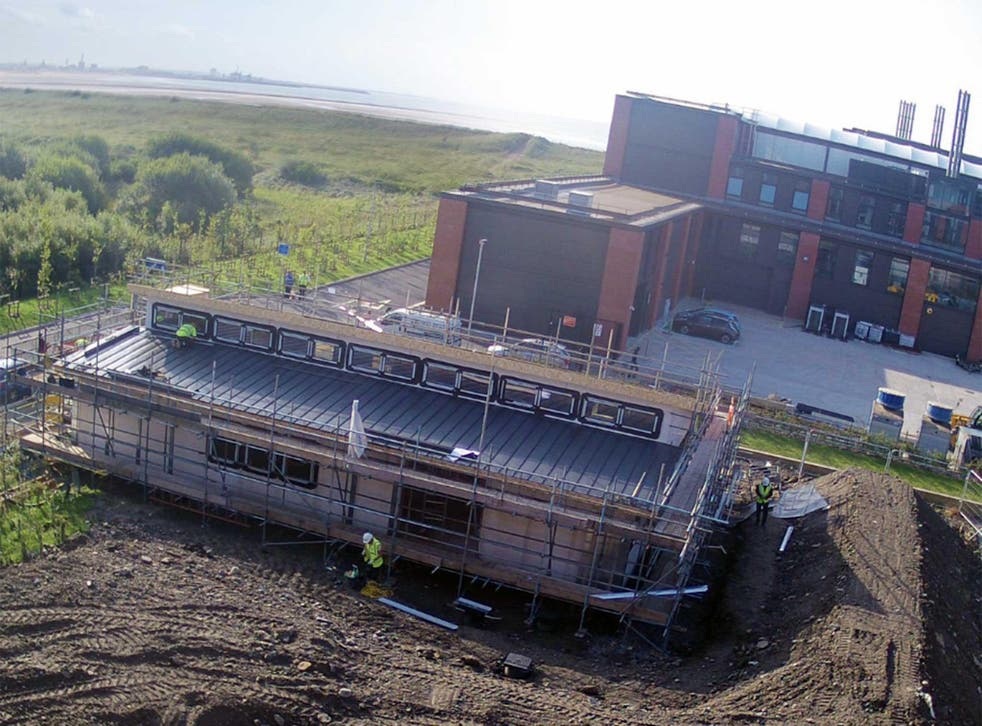 The 'Living Classroom' building in Swansea powers itself using the sun and innovative renewable technology