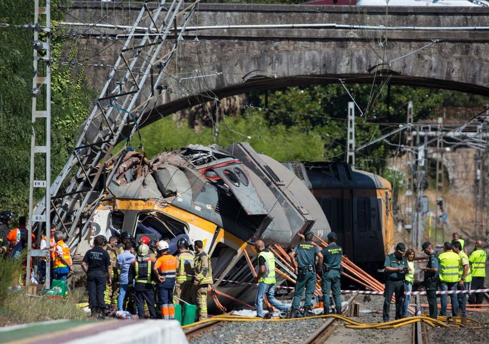 Spain Train Derailment At Least Four Dead In Northern Province Of