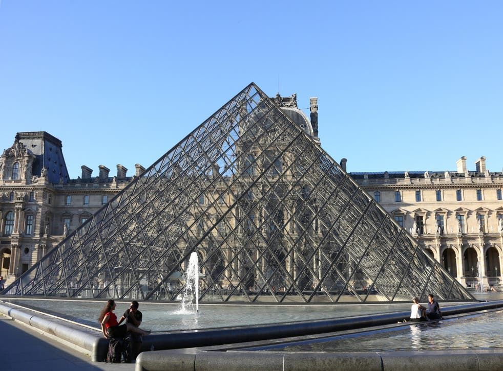 French police have been called to the Louvre in Paris over a security threat after a suspicious item was found
