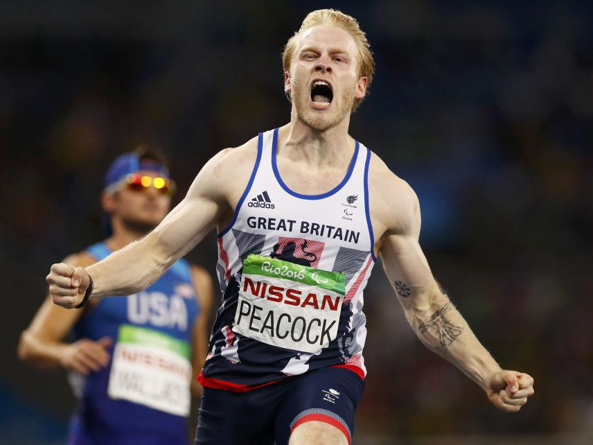 a3692aa0eee Paralympics 2016  Jonnie Peacock triumphs in T44 100m final bringing  Britain s gold medal tally to 12