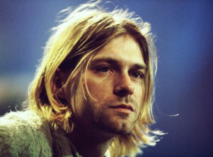 Cobain didn't share the hardcore punk underground's rankled disgust at the idea of overground success (Ge