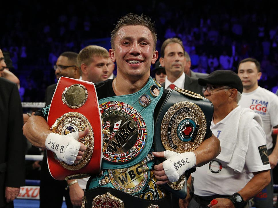 """golovkin with his belts""的图片搜索结果"