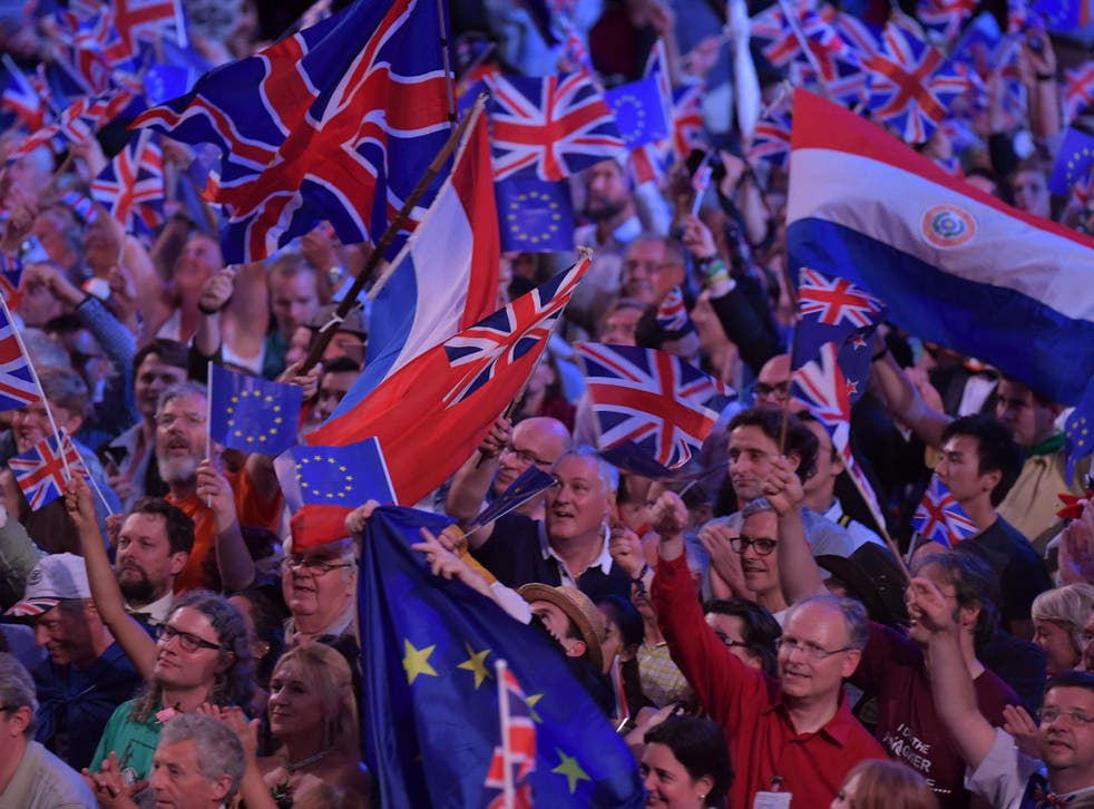 Brexiteers hit out at the publicity move and said music is an 'important part' of national symbolism