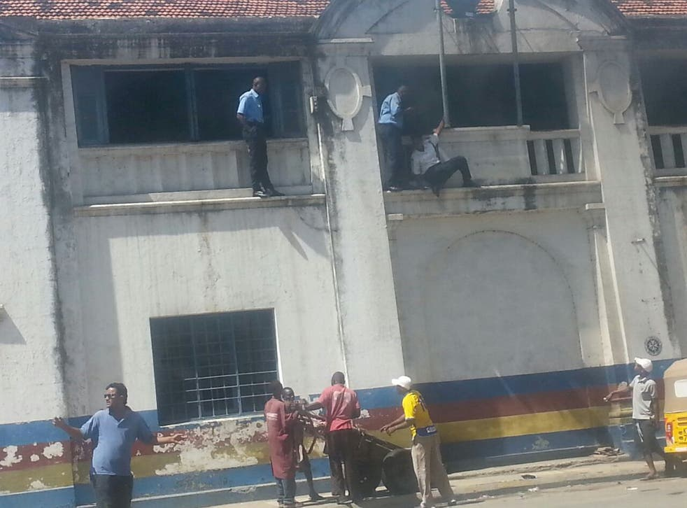 Chaos at Mombasa Central police station as three attackers spark gunfight