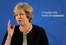 Theresa May to tell UN too many economic migrants are confused with refugees