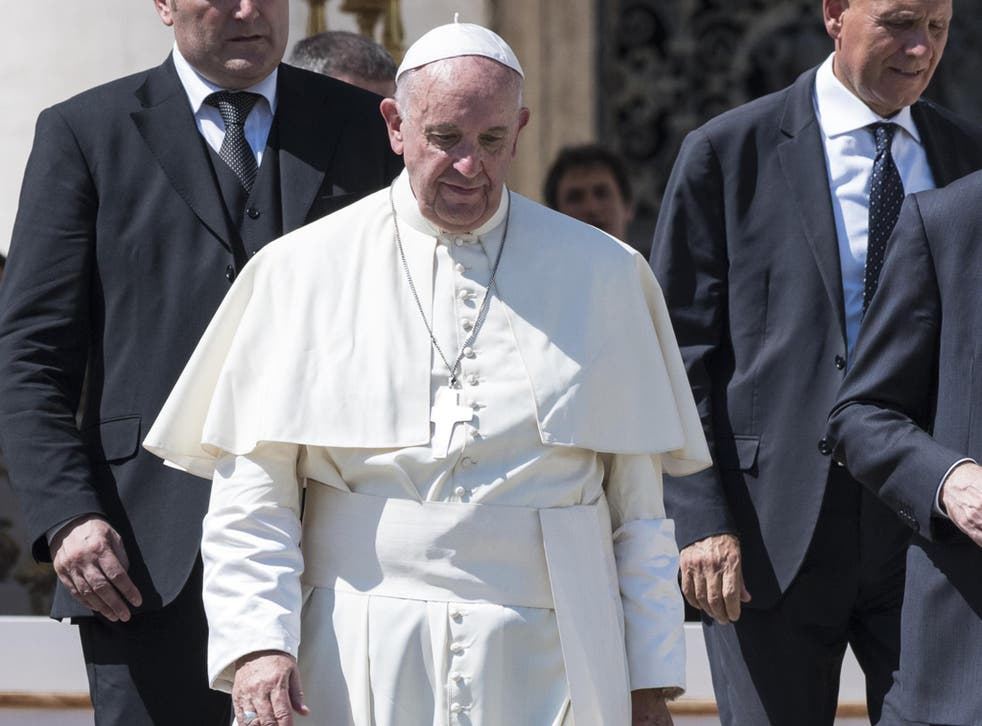 It is not the first time the Pontiff has spoken out against gay marriage, but he has rarely intervened in national debates