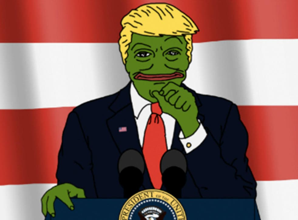 Pepe the Frog as Donald Trump