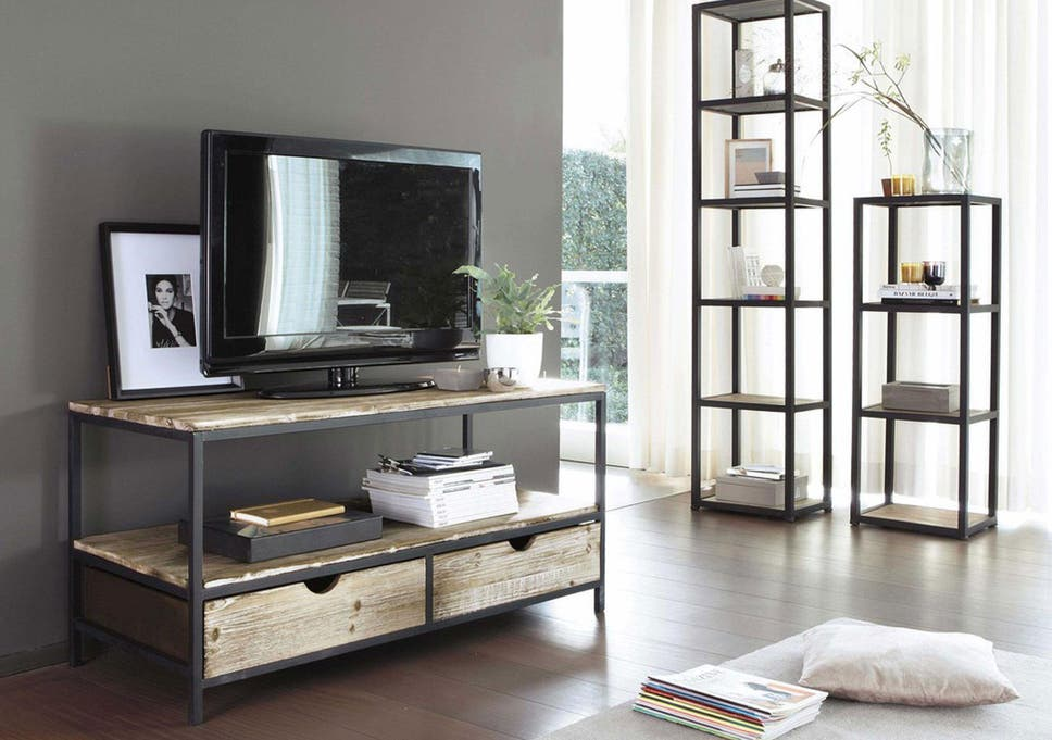 Make Your TV A Design Feature Of Living Room