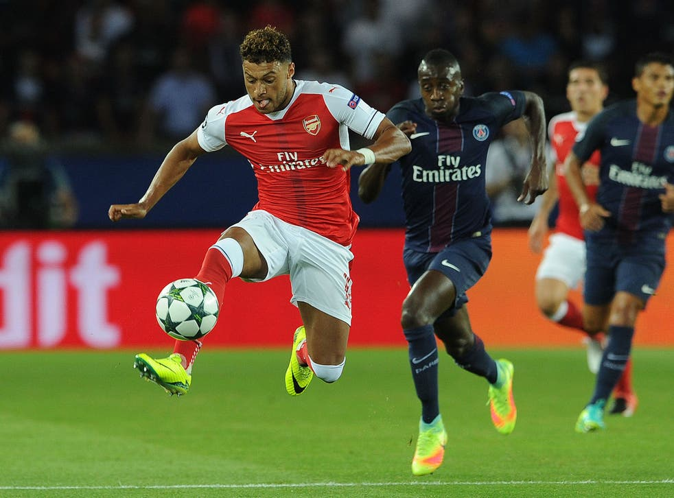 Alex Oxlade-Chamberlain has started four games this season
