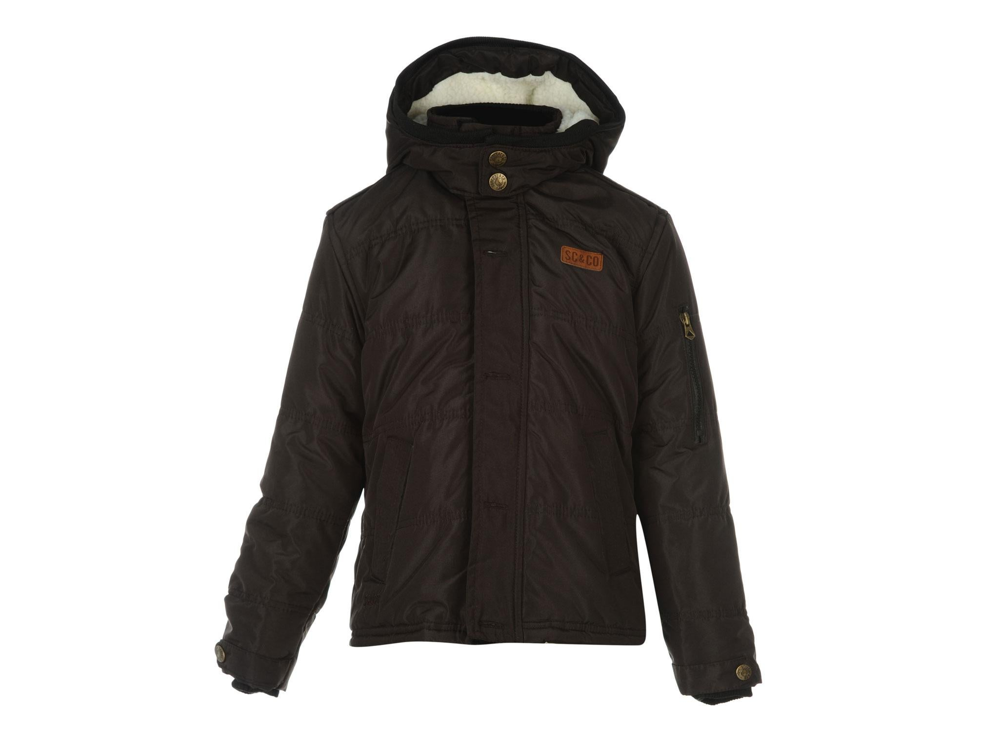 This is a bargain for such a warm coat that will see your child through the  winter. There s a cosy hood 11aede362ee6