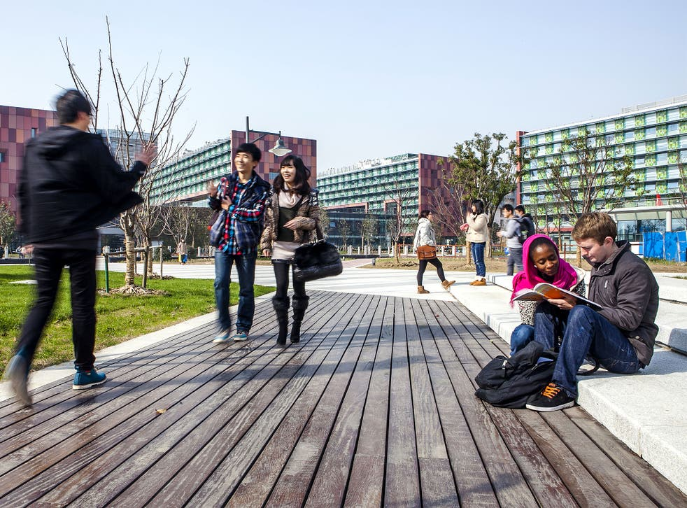 Liverpool's Xi'an Jiaotong campus, set up as part of a partnership between the two universities 10 years ago, hosts year-long programs for students to study in China