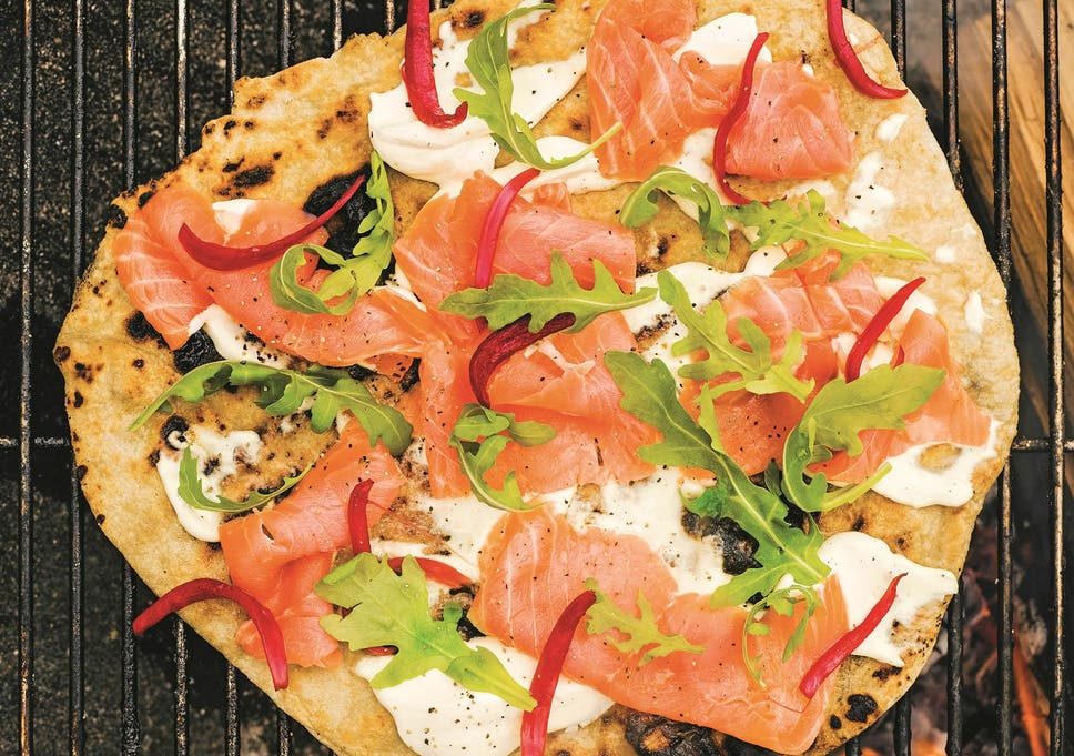 Food From The Fire cookbook: From smoked duck to salmon flatbreads