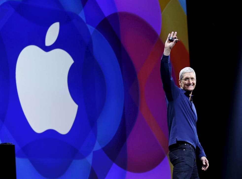Apple CEO Tom Cook says that more needs to be done to counteract 'fake news'