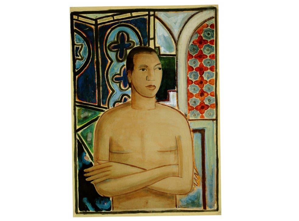 Lam's 'Self-Portrait, II' from 1938
