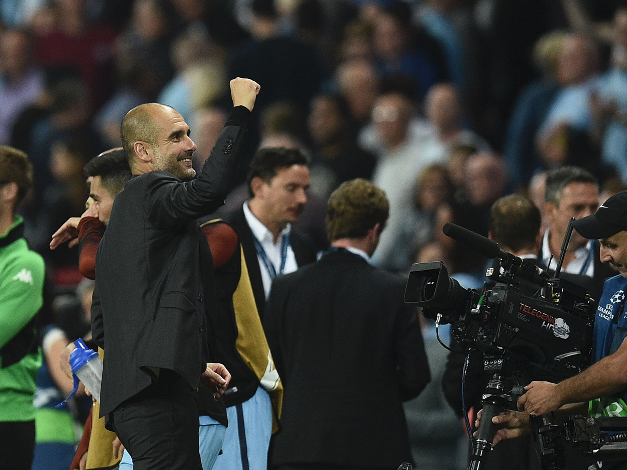Manchester City vs Gladbach: Pep Guardiola calls on fans to forget Uefa feud and support his players