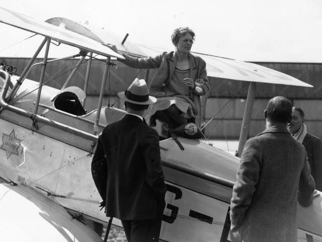 Amelia Earhart vanished while attempting to fly around the world