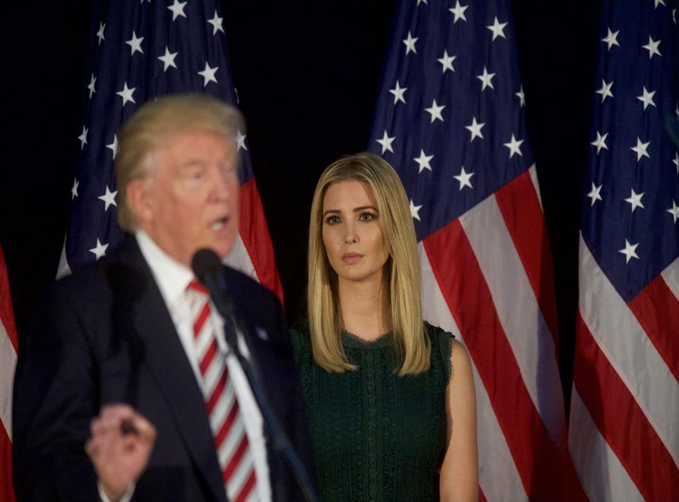 Mr Trump has made several unfortunate remarks regarding his eldest daughter