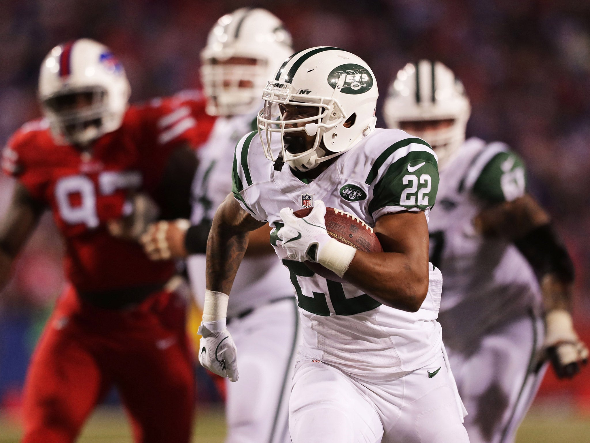 NFL New York Jets Avenge Last Seasons Defeat As Ryan Fitpatrick And Matt Forte Inspire Victory Over Buffalo Bills