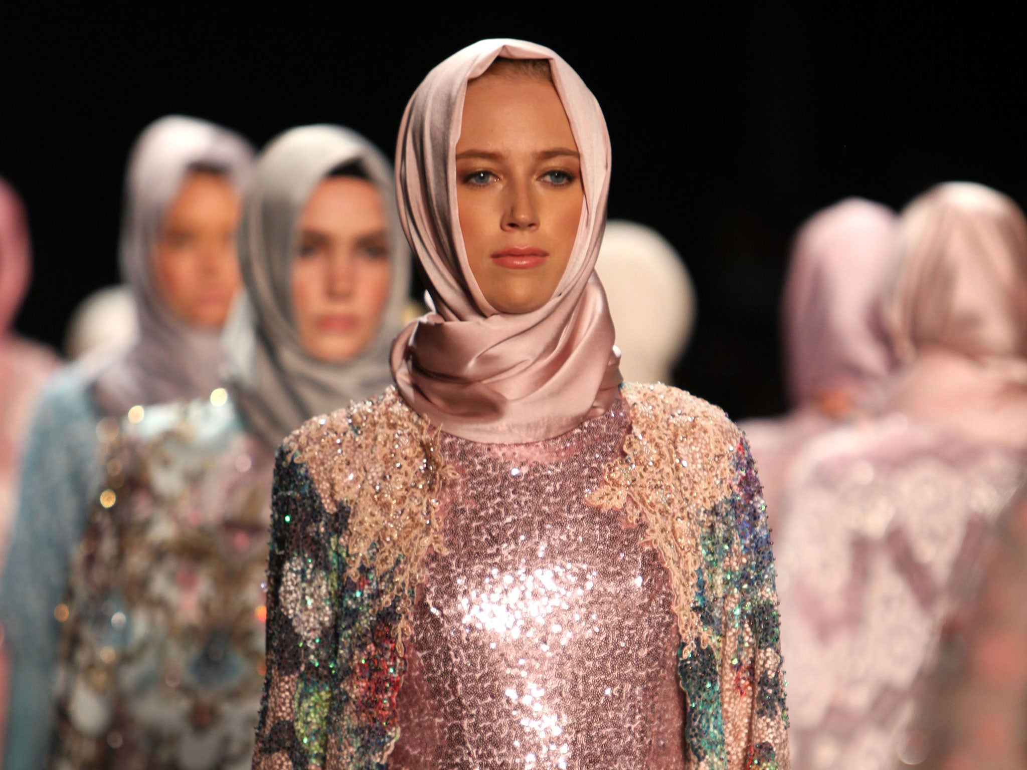 Muslim Fashion Designer Makes History With Hijab