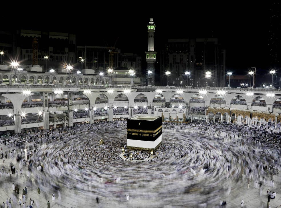 Mecca is the holiest site in the world for Muslims. Every year Muslims make the pilgrimage to the holy city of Mecca and circle the shrine, known as the Kaaba, seven times and then touch it