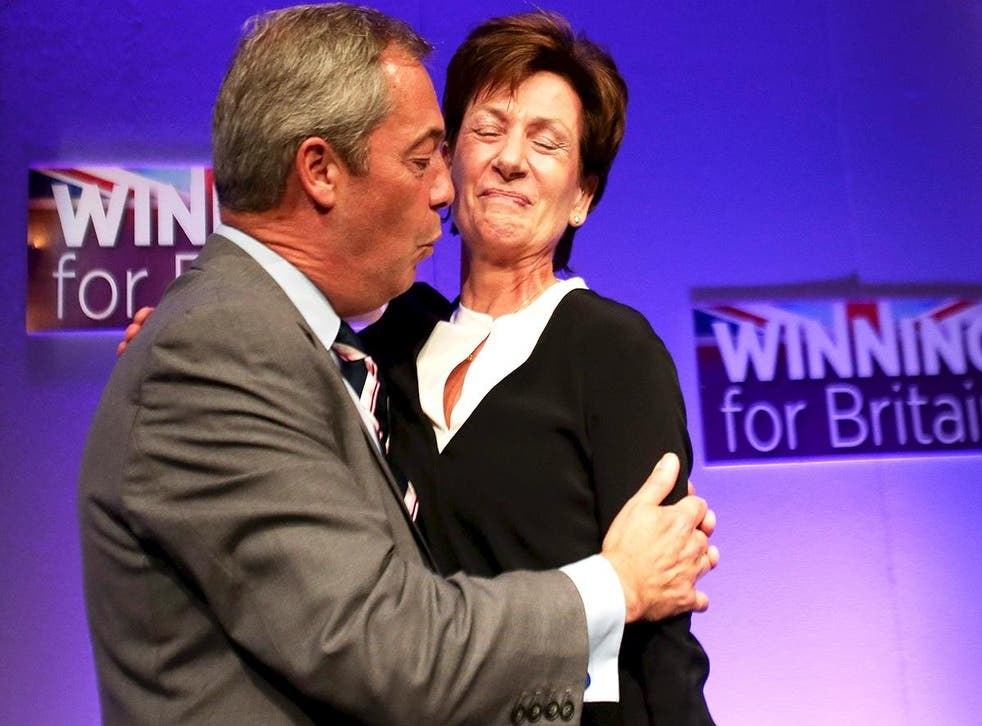 Diane James has been voted in as the new leader of Ukip
