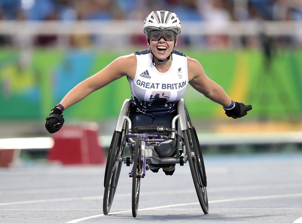 Hannah Cockroft's win in the T34 800 metre final saw Britain match its 2012 haul